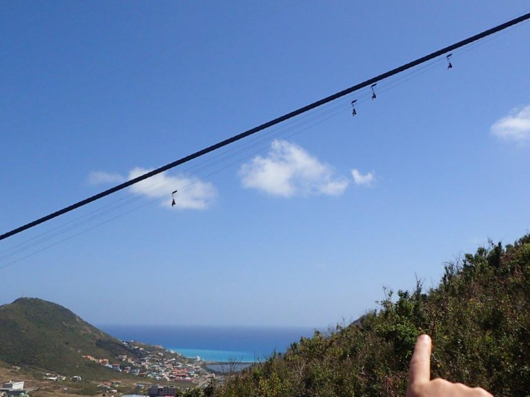 Steepest zip-line in the world!