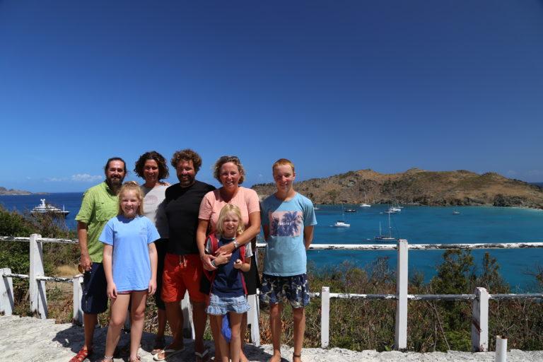 The hiking party of s/v Pura Vida and s/v Flip Flops