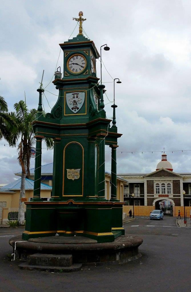 Picturesque downtown Basseterre