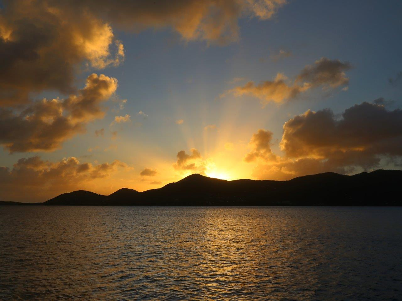 Sunset Hansen Bay