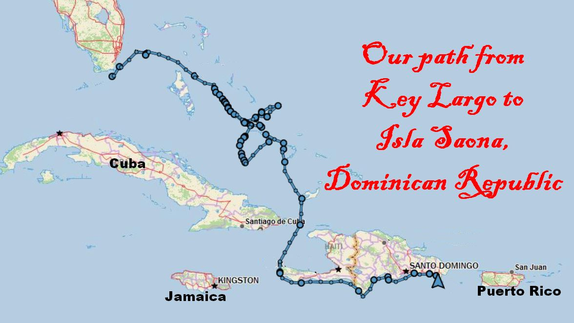 Dominican Republic Episode Saving The Best For Last Our - Map of us and dominican republic